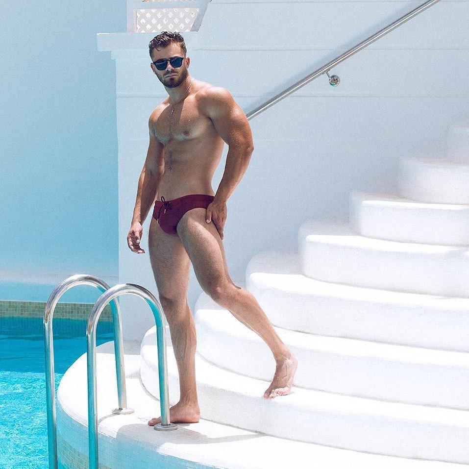 Kevin De La Cruz in Teamm8 underwear