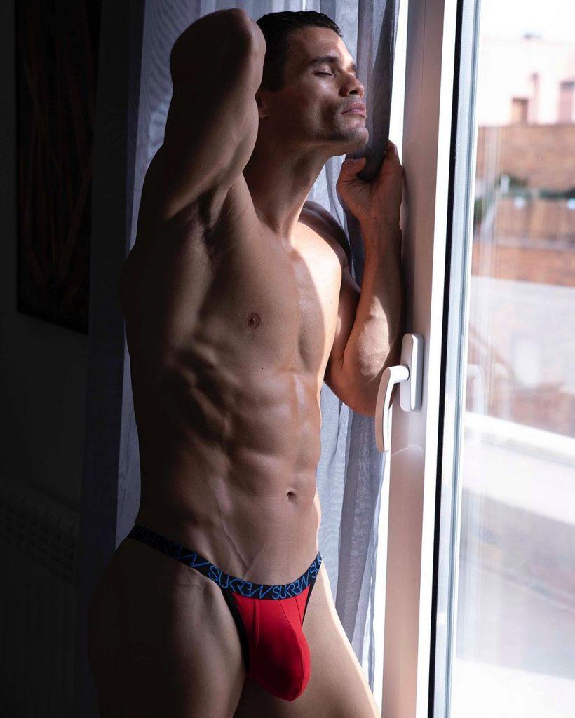 John Neda in Sukrew Underwear