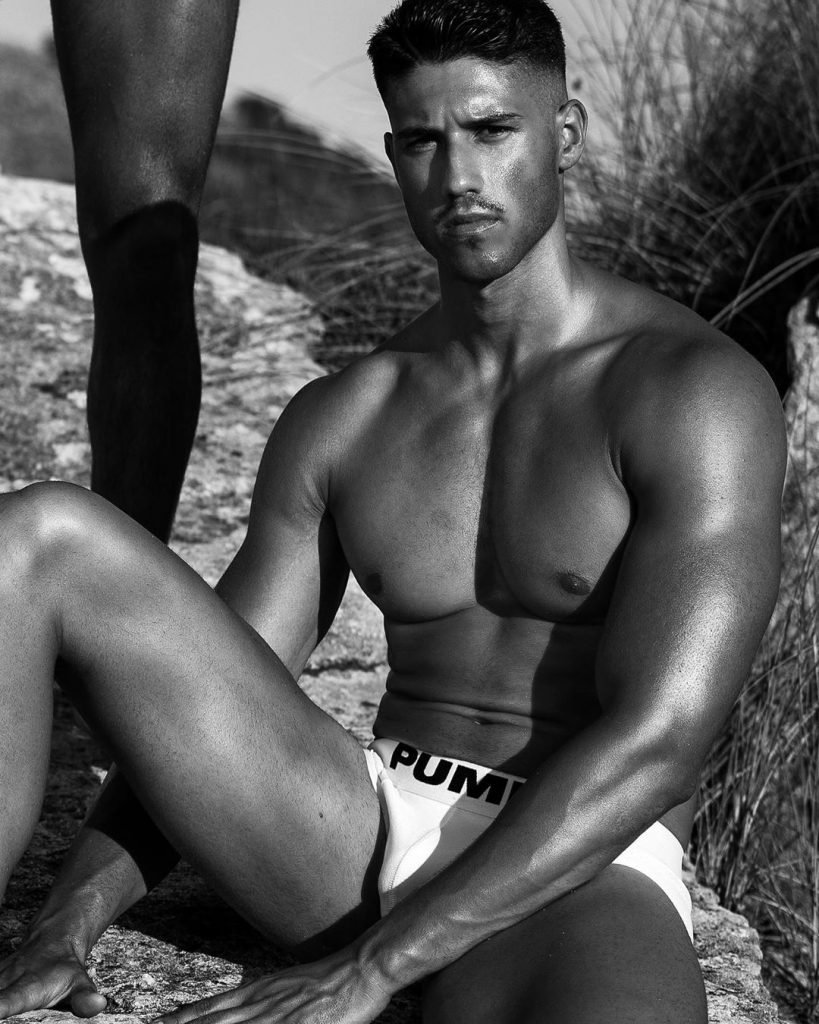 Model wearing Pump Underwear