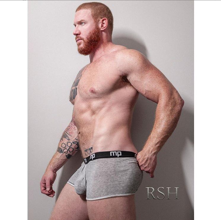 Josh Eddy wearing Male Power Underwear