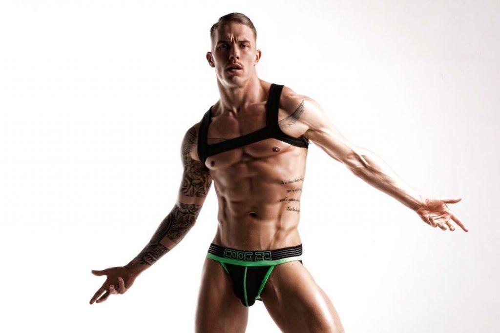 Tomi Lappi in Code22 underwear