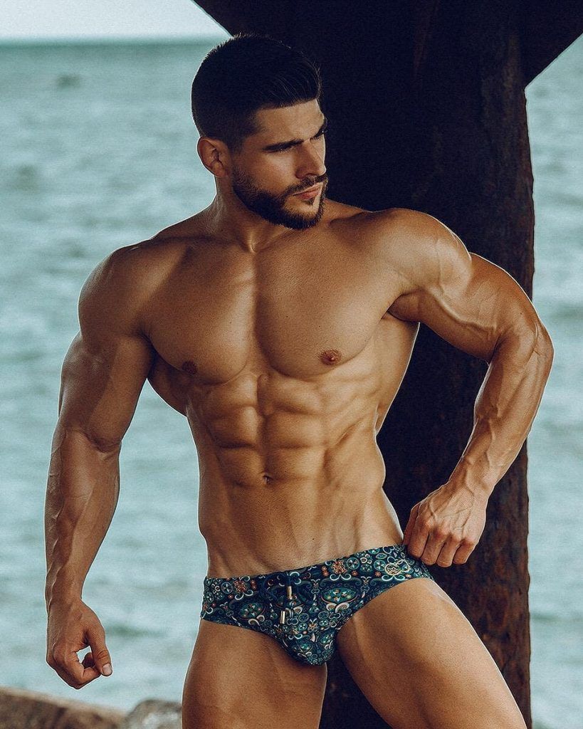 Kevin Hernandez in 2EROS men's underwear