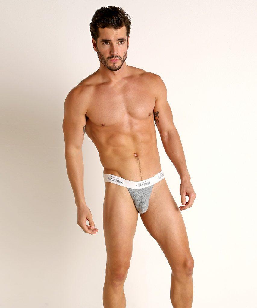 Model in ActiveMan Underwear