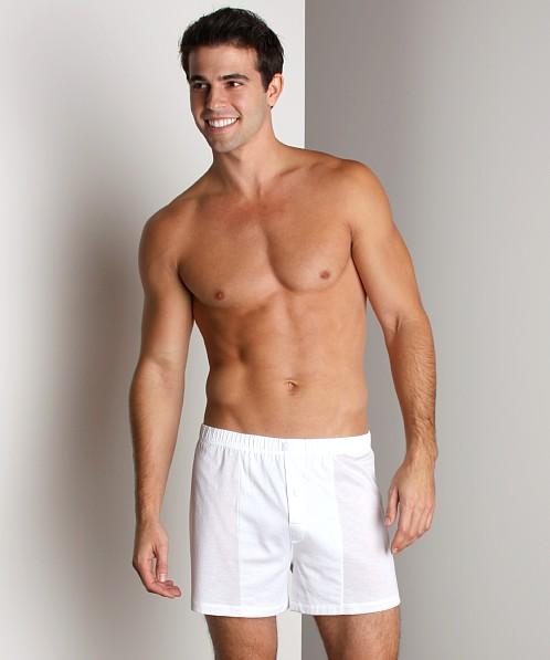Model in Hanro Underwear