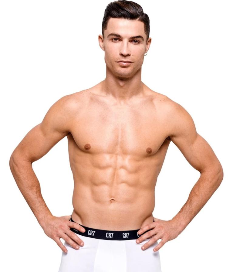 Cristiano Ronaldo' in CR7 underwear