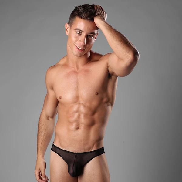 sheer underwear for men