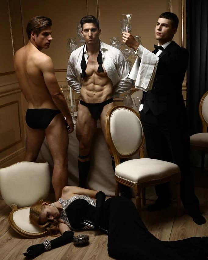 New men's underwear collection