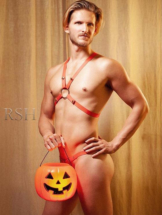 Men's sexy harness