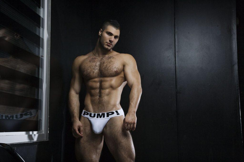white men's underwear