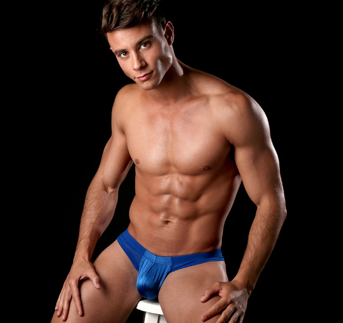Cover Male Sensuality Slip Thong for men