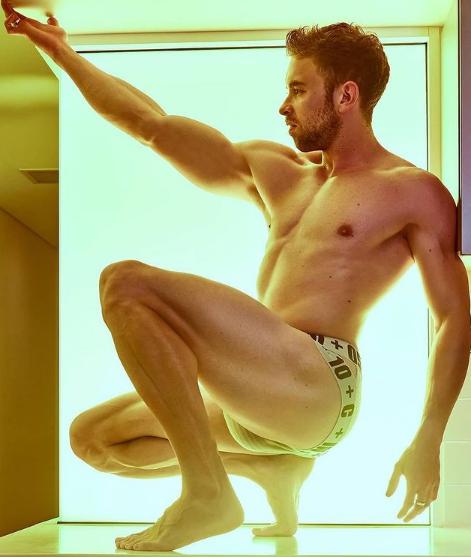 Mens hot underwear models