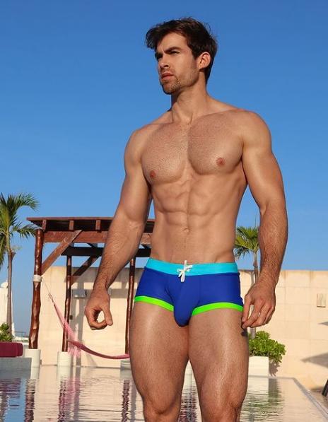 Hot Mens Underwear Model